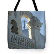San Xavier Del Bac Vignette Tote Bag