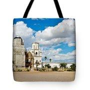 San Xavier Mission Tucson Az  Tote Bag