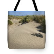 Sand And Grass Dunes Tote Bag
