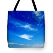 Sand And Sky Tote Bag