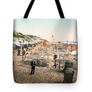 Sand Castles, C1895 Tote Bag