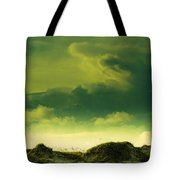 Sand Dunes And Clouds Tote Bag by Marilyn Hunt