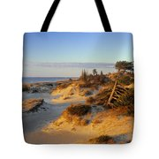 Sand Dunes At Sunset, Lake Huron Tote Bag