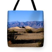 Sand Dunes In Death Valley Tote Bag
