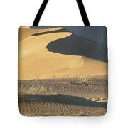 Sand Dunes In Namib Desert Tote Bag