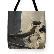 Sand Man Tote Bag