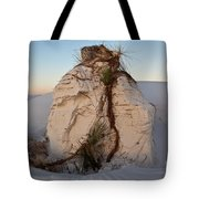 Sand Pedestal With Yucca Tote Bag