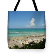 Sandals Cay Tote Bag