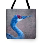 Sandhill Crane 3 Tote Bag