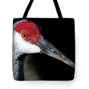 Sandhill Cranes Close Up Tote Bag