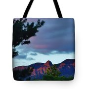 Sandia Mountains At Sunset Tote Bag