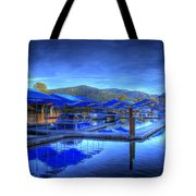 Sandpoint Marina And Power House 1 Tote Bag
