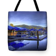Sandpoint Marina And Power House 2 Tote Bag