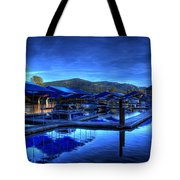 Sandpoint Marina And Power House 3 Tote Bag