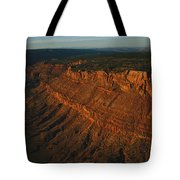 Sandstone-capped Escarpment Tote Bag