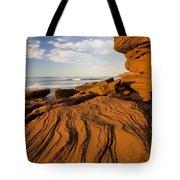 Sandstone Cliffs, Cavendish, Prince Tote Bag