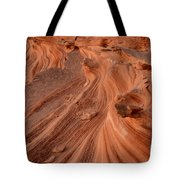 Sandstone Waves Little Finland Tote Bag