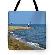 Sandy Point Fisherman Tote Bag
