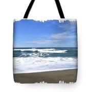Sandy Shores Of Oregon Tote Bag