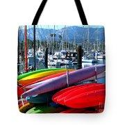 Santa Barbara Harbor Tote Bag