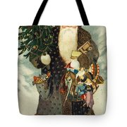 Santa Claus With Toys Tote Bag