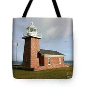 Santa Cruz Lighthouse Tote Bag