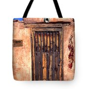 Santa Fe Door Tote Bag