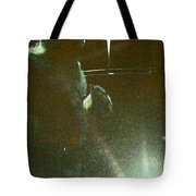 Santa On The Go Tote Bag