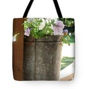 Sap Bucket Planter Tote Bag