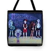 Sarah's Monster High Collection Tote Bag