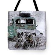 Saranac Cities Service Truck Tote Bag