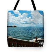 Sarasota Bay In Florida Tote Bag