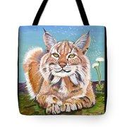 Sassy Lynx Tote Bag