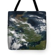 Satellite Image Of Smog Over The United Tote Bag