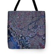 Satellite View Of Buffalo, New York Tote Bag