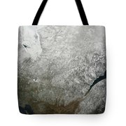 Satellite View Of Eastern Canada Tote Bag