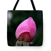 Satin Rosebud Tote Bag