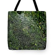 Saturated Spider Web Tote Bag