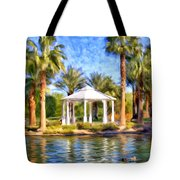 Saturday In The Park Tote Bag