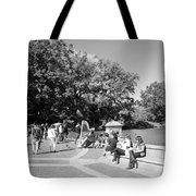 Saturday In The Park Tote Bag