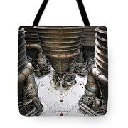 Saturn Five Tote Bag