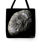 Saturns Moon Hyperion Tote Bag