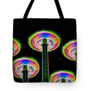 Saucer Attack Tote Bag