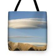 Saucer-shaped Cloud, Kootenay Plains Tote Bag