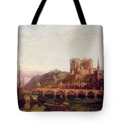 Saumur -  By The Loire Valley  Tote Bag