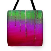 Sausalito Bay California In Color Tote Bag