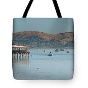 Sausalito Harbour Tote Bag