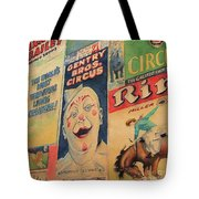Sawdust And Greasepaint 2 Tote Bag