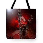 Sax World Tote Bag