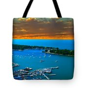 S.bass Is. Lake Erie Tote Bag